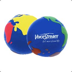 Stress balls with your logo printed on them